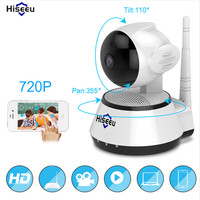 Hiseeu Camaras De Seguridad Mini Wifi Dvr Wireless Ip Camera HD 720P Ip Outdoor Indoor Baby