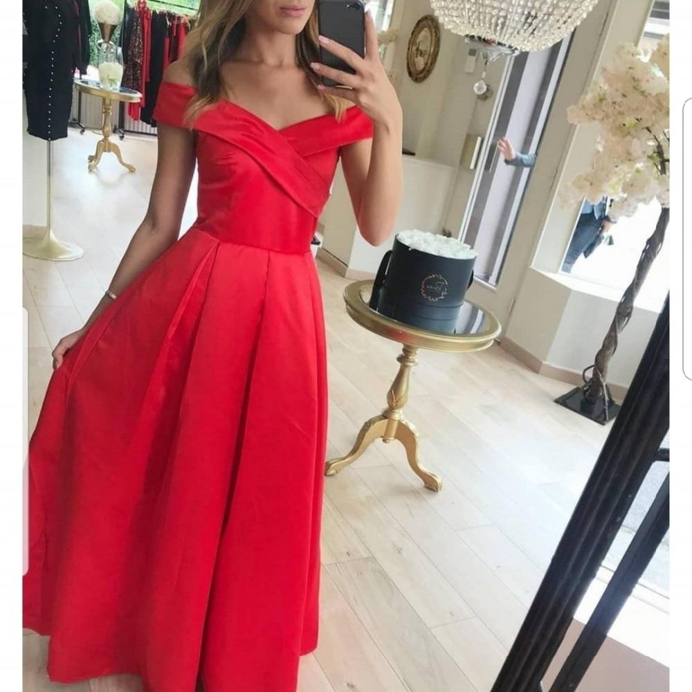 BEPEITHY Abiye Off The Shoulder Prom   Dress   Party Elegant Robe De Soiree   Evening     Dresses   2019