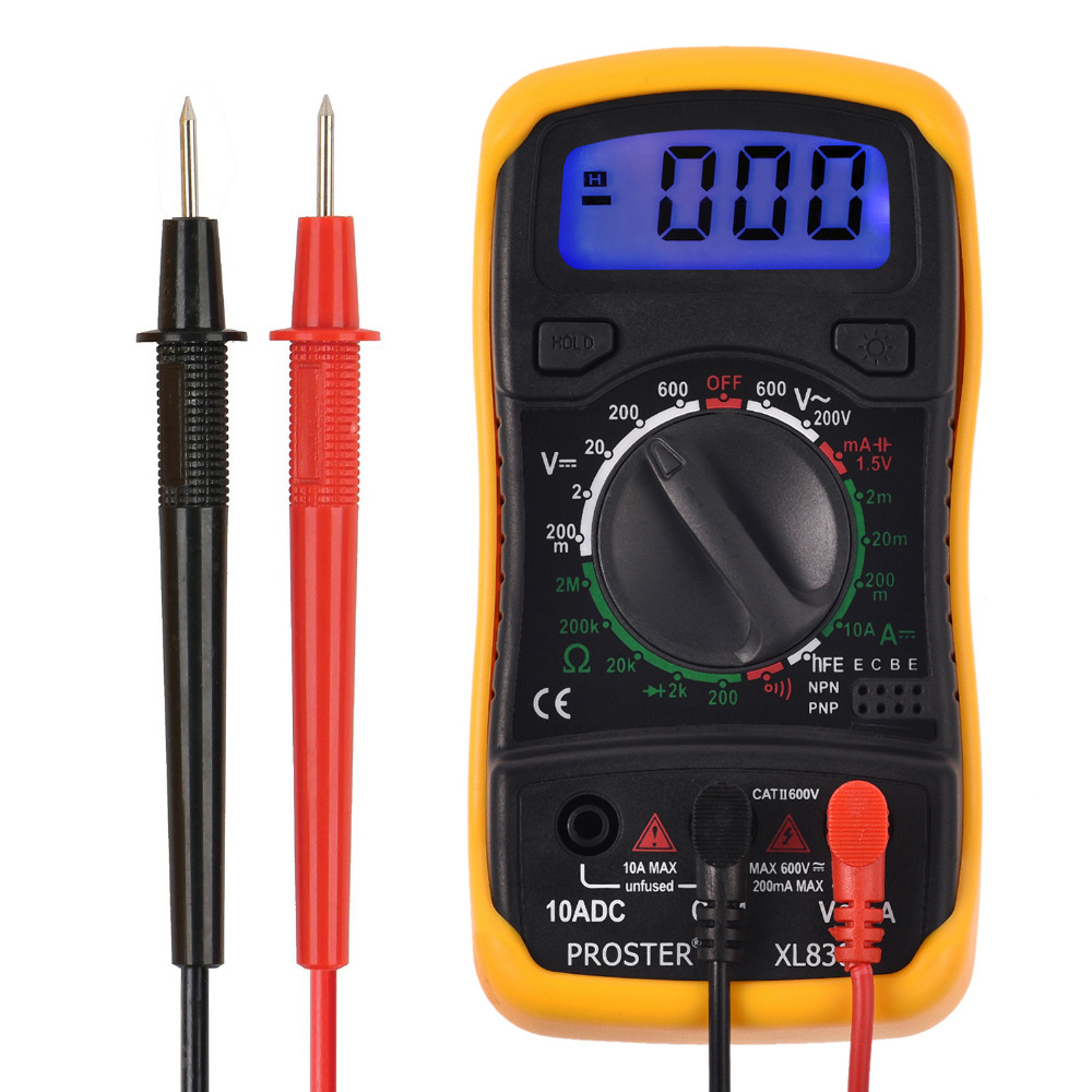 digital multimeter ac dc voltmeter ammeter ohm circuit checker rh aliexpress com Transistor Tester Kit Simple Transistor Tester Circuit