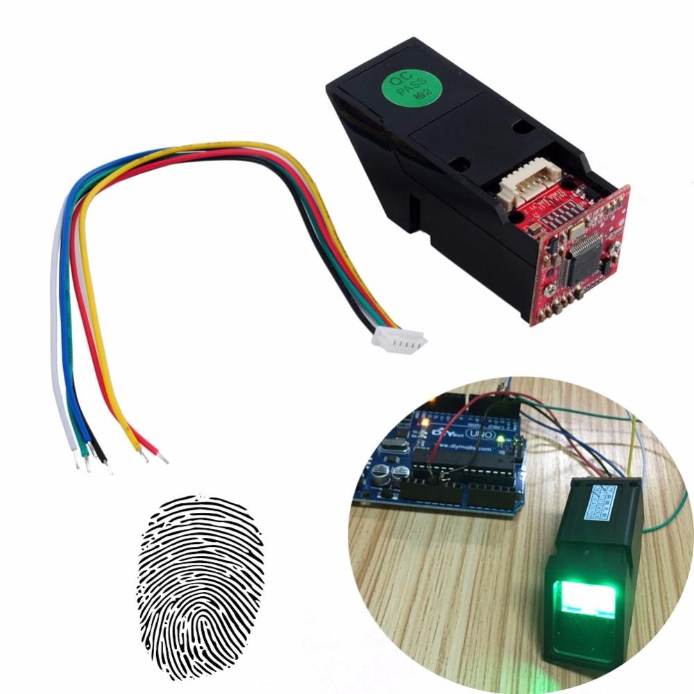 RCmall lumière verte lecteur d'empreintes digitales optique Module de capteur pour Arduino Mega2560 UNO R3 FZ1035G DIYmall