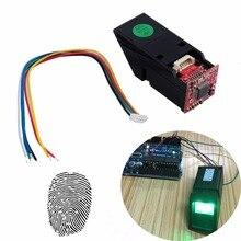Оптический считыватель отпечатков пальцев RCmall, модуль датчика с зеленым светом для Arduino Mega2560 UNO R3 FZ1035G DIYmall