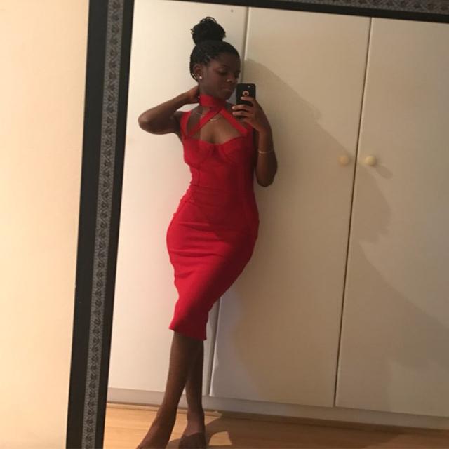 2017 New Summer Bandage Dress Women V-Neck Spaghetti Strap Halter Bodycon Night Out Dress Evening Party Dress Women Wholesale