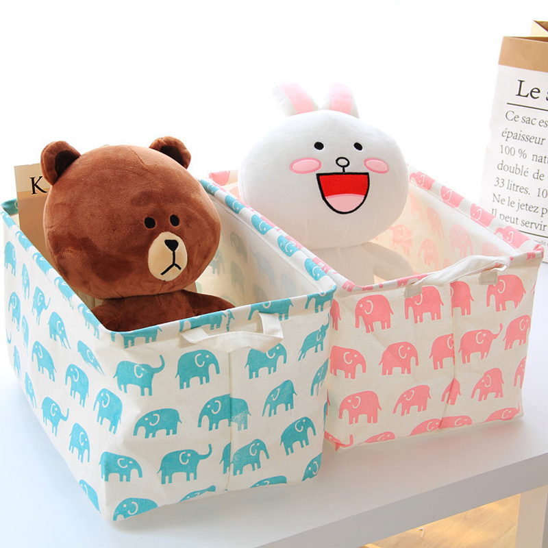 Cute Picnic Basket Small Laundry Basket for Baby Dirty Clothes Home Organizer Desk Basket for Toys Panier En Osier Cestas