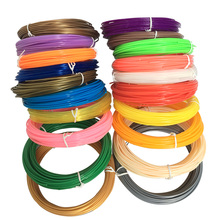 3D Pen Filament Refills 1.75mm ABS/PLA – 20 Different Colors (2 Glow in the Dark) for 3D printing pens