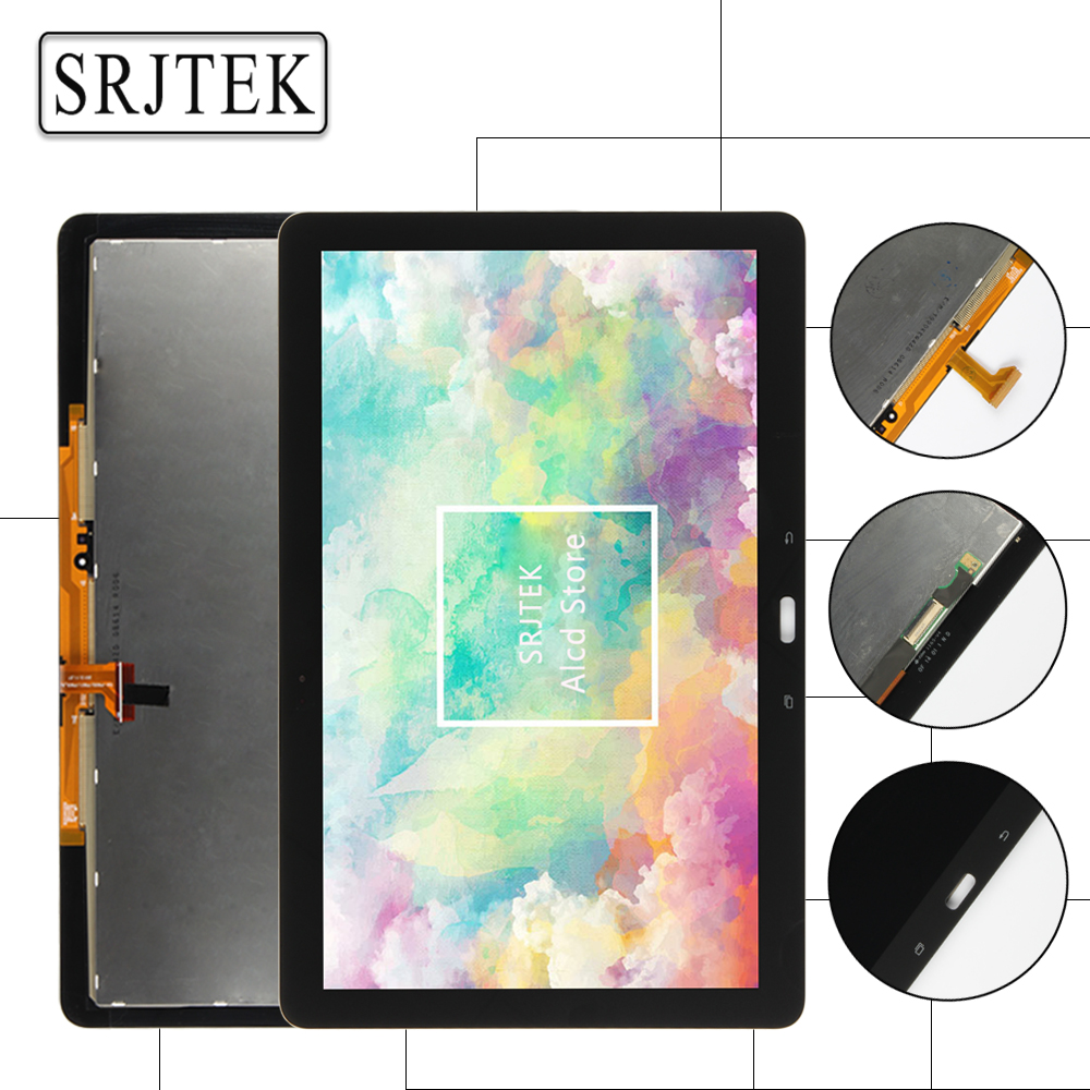 Srjtek 12.2 for Samsung Galaxy Tab Pro T900 SM-T900 T901 T905 LCD Display Matrix Touch Screen Digitizer Sensor Full Assembly 8 4 white for samsung galaxy tab pro 8 4 t325 sm t325 t321 sm t321 touch screen digitizer glass lcd display monitor assembly