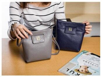 Women's Genuine Leather Messenger Ladies Fashion Natural Leather Shoulder Bags Female Phone Purse High quality Crossbody handbag