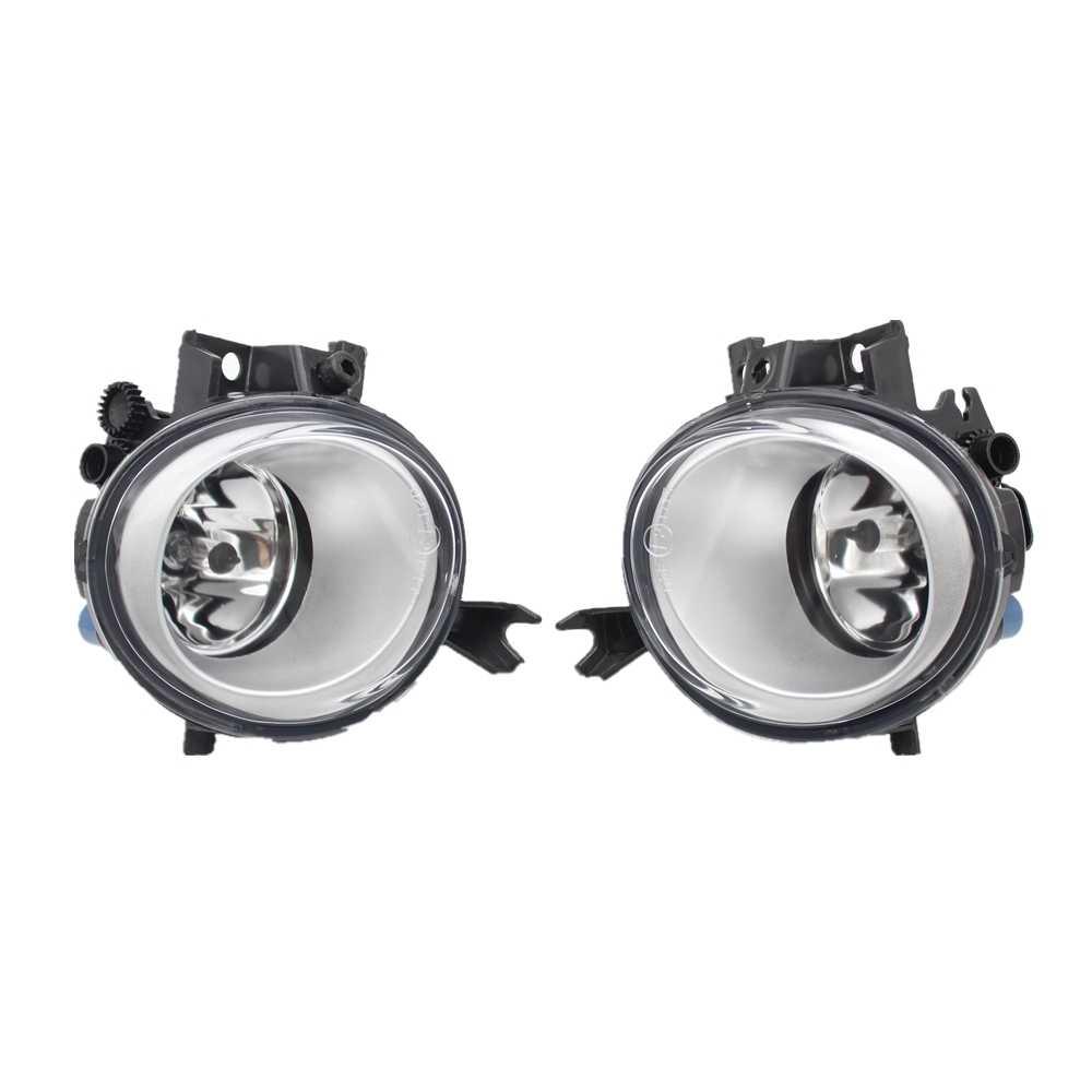 2 Pcs Lampu Kabut untuk VW Touareg 2002 2003 2004 2005 2006 2007 2008 2009 2010 Mobil Depan Halogen Fog lampu Kabut Lampu dan Lampu