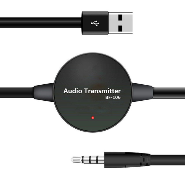 Wireless Bluetooth Adapter 4.0 Bluetooth Audio Transmitter 3.5MM TV Audio Speakers Free Drive Connect Automatically