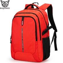 759e42cda7 BAIJIAWEI New Arrival Backpack For Men Women Big Capacity Casual Laptop Bags  Nylon Waterproof Travel Backpacks Daily Bag mochila