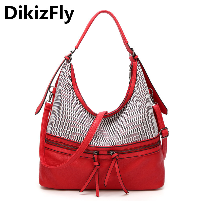 DikizFly Women Totes Handbag Casual Shoulder Bags luxury handbags women bags designer bolsa feminina bolsas Crossbody Bag purse 2017 new women shoulder bags solid pu leather handbags ladies brand designer bucket handbag purse bolsas feminina casual totes