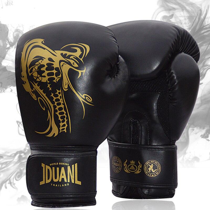 7f8a6dabe 2016 Mens Mma 10 oz PU Thai Boxing Gloves Sanda Kungfu Women Fighting  Sandbag Training Luvas Boxeo Guantes Kickboxing Equipment