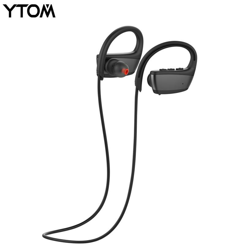 IPX7 profesional impermeable inalámbrica Bluetooth auriculares inalámbrico mejor deportes auriculares con micrófono para corriendo natación auriculares