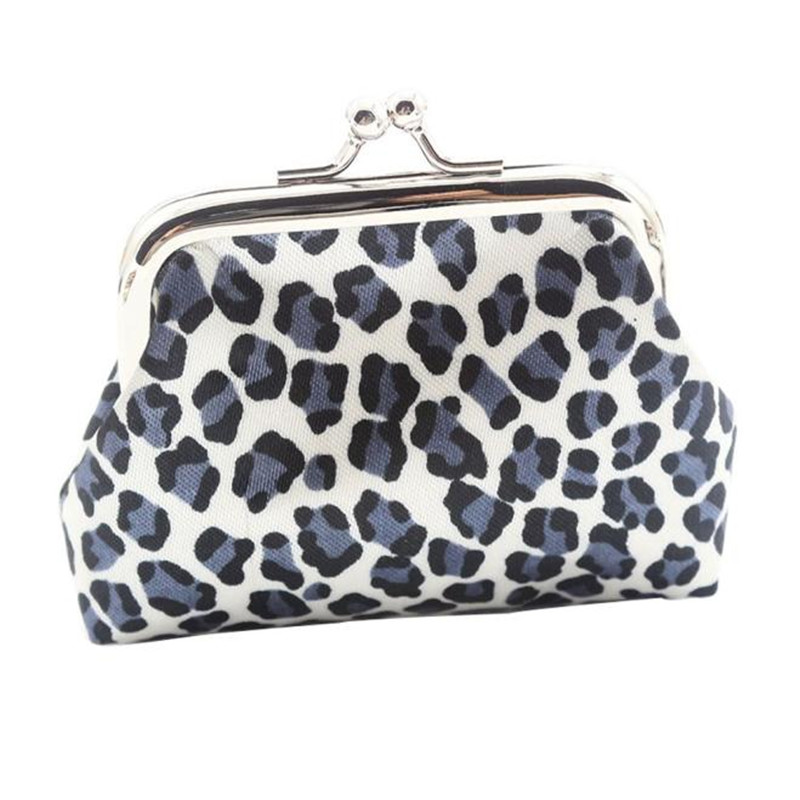 2018 hot sale and fashion classic Women Lady Retro Vintage Leopard Small Wallet Hasp Purse Clutch Bag free shipping & wholesale