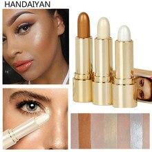 HANDAIYAN Highlighter Stick Glitter Contour Concealer Brightener Face Glow Bronzer Makeup Shimmer