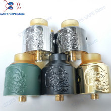 2019 newest Skull rda Money shot 29mm Vaporizer Rebuildable Tank Atomizer Fit 510 Thread Mod Vape vs Apocalypse GEN 25 RDA
