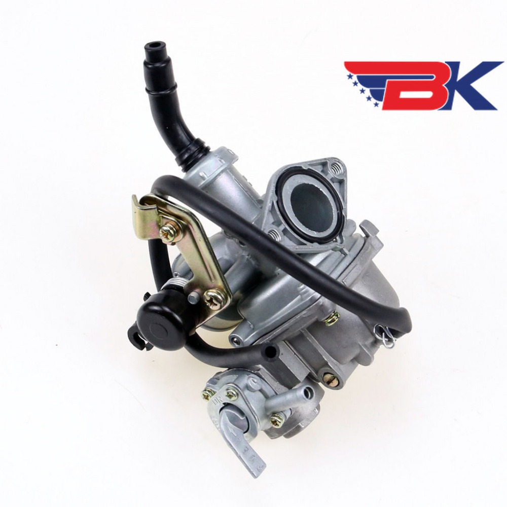 PZ19 19 Mm Cable Choke Carburetor Carb 70 90 100 110 125cc ATV Quad Dirt Bike