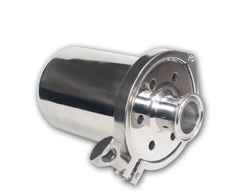 Évent Triclamp de 1.5 pouces, petit reniflard d'air de réservoir d'acier inoxydable