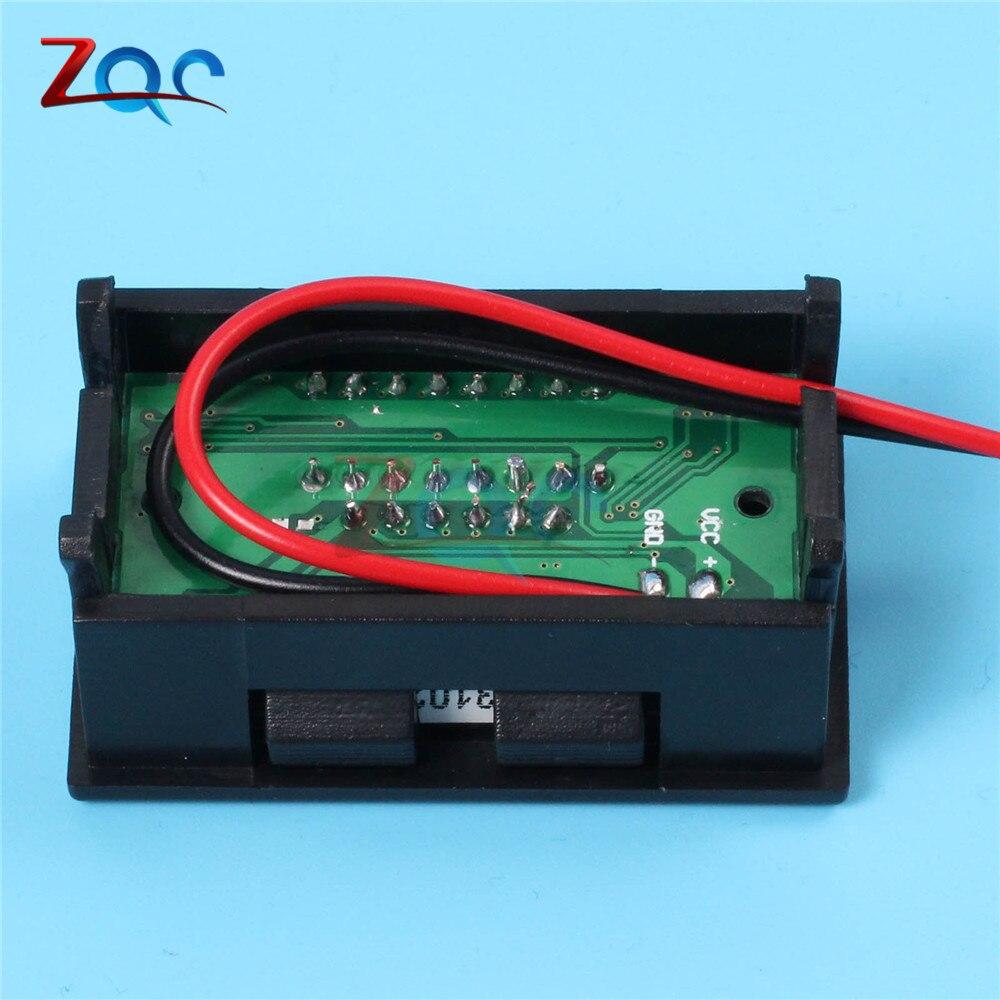 Image 3 - 6 V/12 V/36 V/48 V indicador de nivel de carga de batería de ácido de plomo de coche probador de batería de litio medidor de capacidad de batería LED voltímetroindicator batteryindicator battery capacityindicator led -