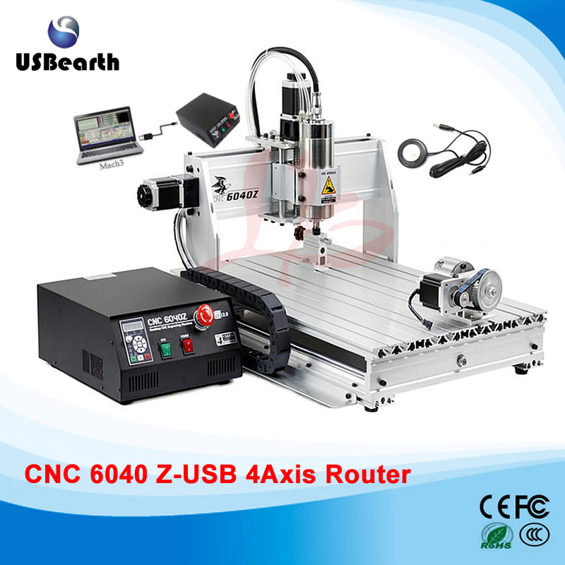 3D cnc router cnc 6040 1500w engraving drilling milling machine cnc cutting machine 110/220v cnc 5axis a aixs rotary axis t chuck type for cnc router cnc milling machine best quality