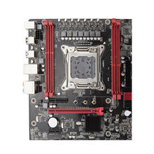 цена на X79 Motherboard LGA2011 E5 2680 V2 USB3.0 Sata3 PCI-E Nvme M.2 SSD Xeon E5 Processor 64GRam With 9 Ports USB ATX Mainboard