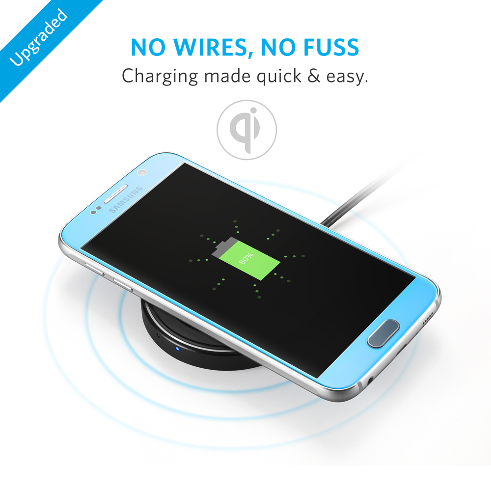 anker wireless charger powerport qi wireless charging pad for