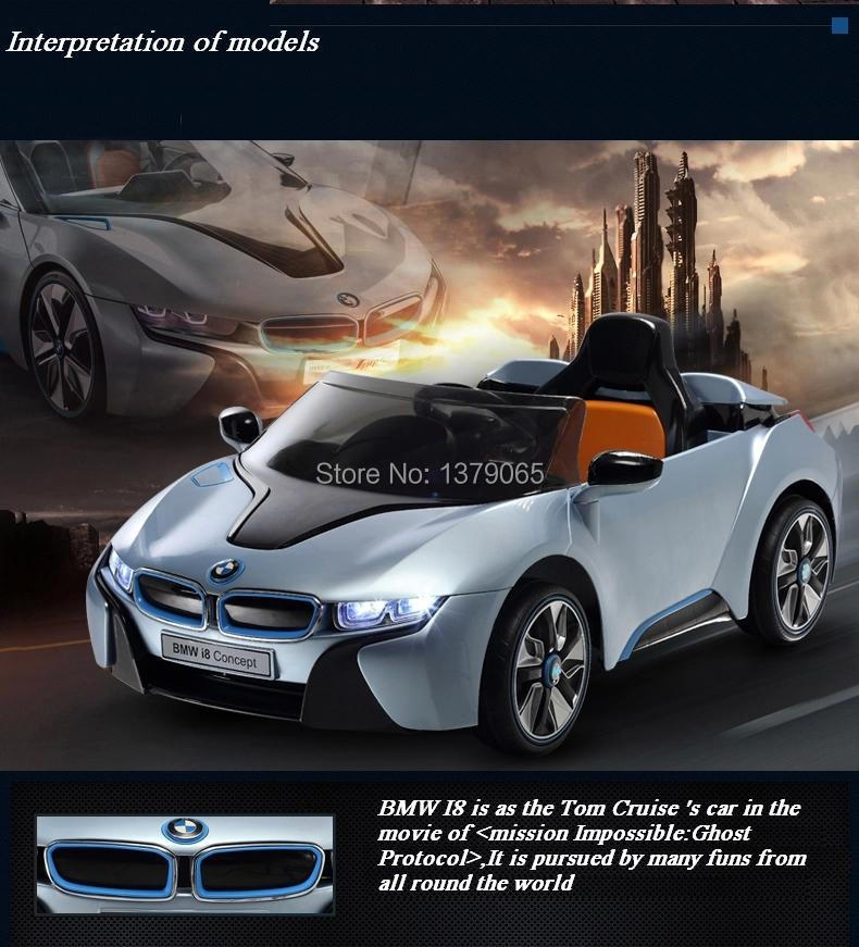 electric car for kids ride on with remote control and music i8 car baby children gift12v double motor frozen ride on toy car in ride on cars from toys