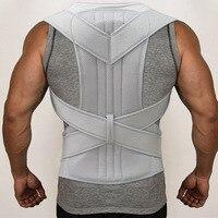 Men Women Back Support Belt Breathable Corset For Spine Adjustable Posture Corrector Back Shoulder Posture S M L XL XXL