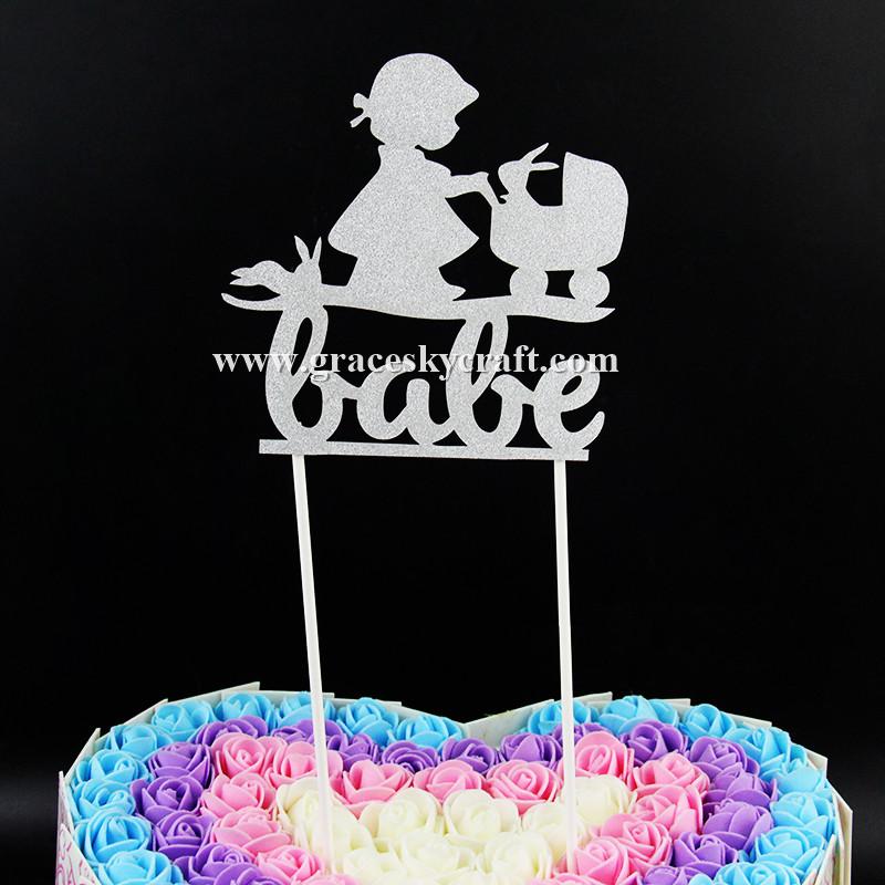 Awe Inspiring 12Pcs Free Shipping Glitter Paper Lovely Girl And Rabbit Birthday Funny Birthday Cards Online Aboleapandamsfinfo