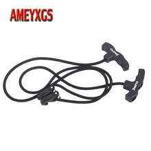 1pc Archery Crossbow Rope Cocking Device Installing Bowstring Aids String For Outdoor Bow And Arrow Hunting Shooting Accessories