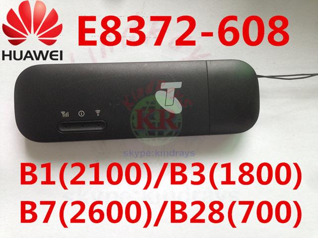 Desbloqueado huawei e8372h-608 4g wifi stick trabajo como 4g wifi router LTE 3g 4g Módem Módem mifi E8372 E8278 e8377 PK e355 w800