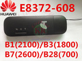 Unlocked Huawei E8372h-608 4g WiFi Stick work like 4G Wifi router LTE 3g 4g Modem E8372 mifi Modem PK E8278 e8377 e355 w800