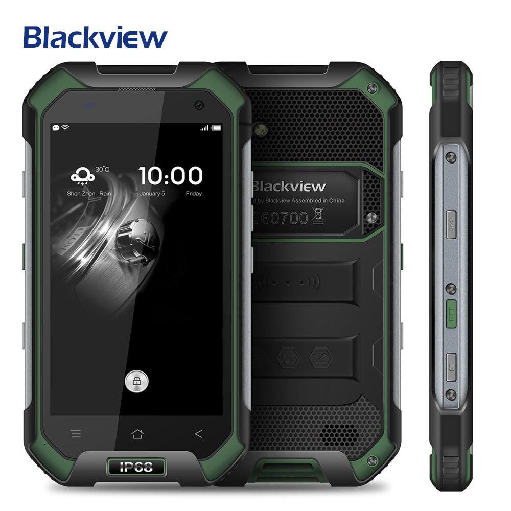 bilder für Blackview BV6000S IP68 Wasserdichte Handy Android 6.0 MTK6735 Quad Core 4,7 zoll 4G 2 GB 16 GB 4200 mAh GPS Glonass Smartphone