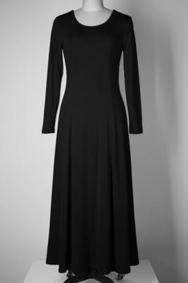 Летнее платье для женщин модное повседневное Макси платье размера плюс черные платья Бохо сарафан вечерние элегантные женские платья - Цвет: black long sleeve