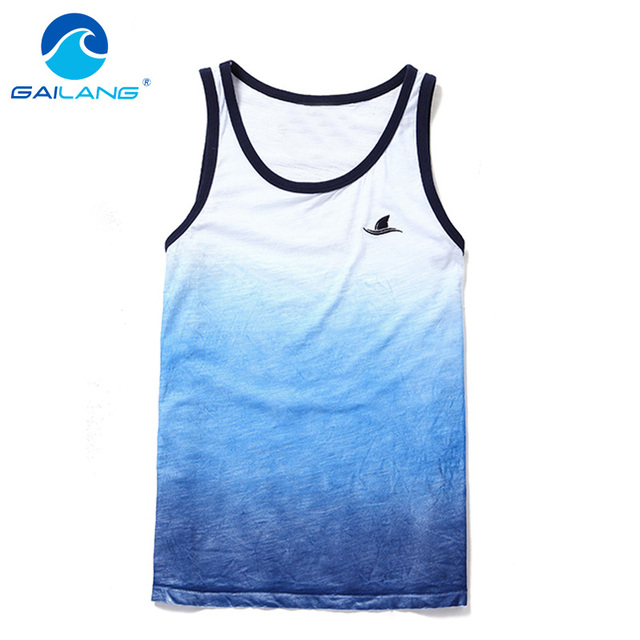 Gailang Marca hombres Camiseta Camisetas Sin Mangas Singlets Stringer Gimnasio Hombres Casual T Shirts Top Tanques Musculares Camisetas Interiores