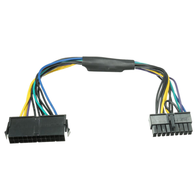 US $4 93 22% OFF|ATX 24pin to Motherboard 18pin Adapter Power Supply Cable  18AWG for HP Z420 Z620-in AC/DC Adapters from Consumer Electronics on