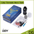 100% Оригинал IJOY Tornado Hero Стороны заполнения 5.2 мл Югу ом Бак и RTA Скорость Построить Палубе Инновационная боковая заполнение ijoy Распылителя