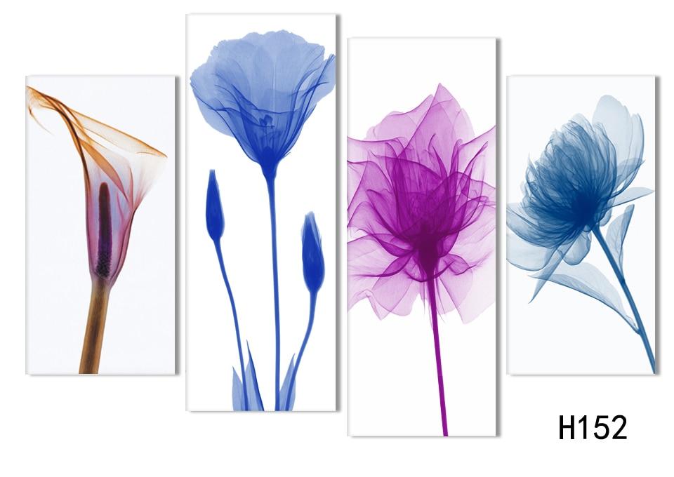 4 unidades envío gratuito barato abstracto moderno pintura de la - Decoración del hogar - foto 3