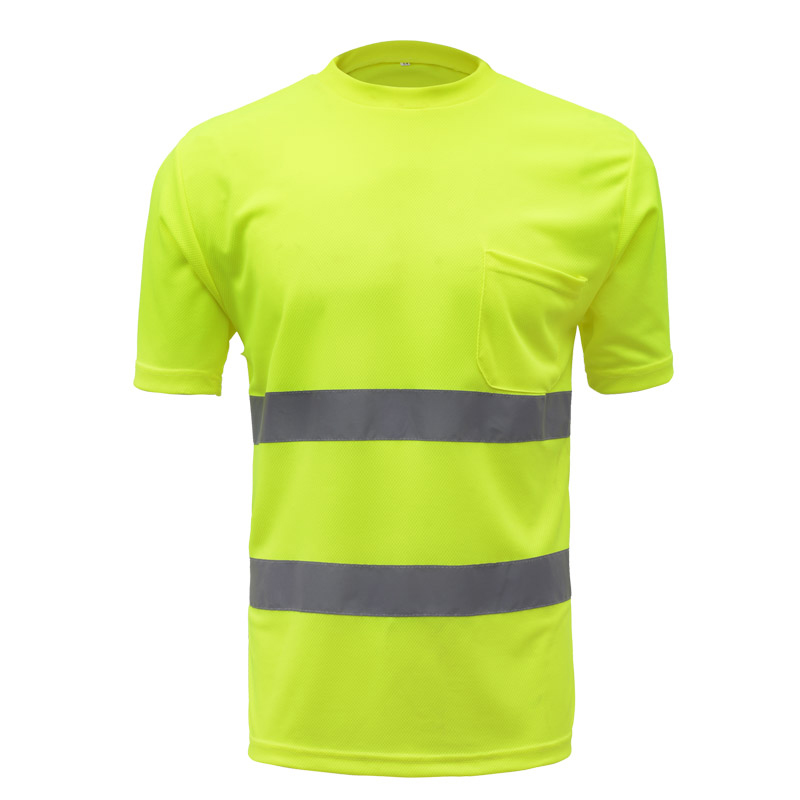 High Visibility Safety Reflective Security Work Shirt Mens Summer High Visibility for Working High Visibility Safety Reflective Security Work Shirt Mens Summer High Visibility for Working