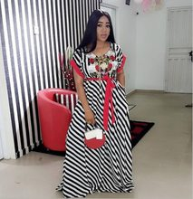 2018 Women Dress Maxi Dashiki Dress Bazin Elastic African Style Plus Size  African Long Dresses For Women African Clothes 2dd1792156be