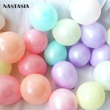 NASTASIA 5 inch Macaron latex balloon wedding party supplies  happy birthday home decoration Floating air ball