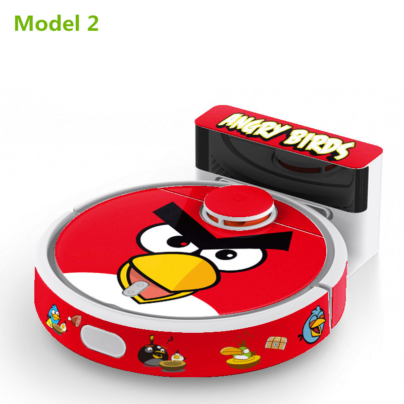 1 Piece Panda Style Sticker For XIAOMI MI Robot Vacuum Cleaner Beautifying Protective Film 8 Model