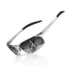2019 BRAND DESIGN Sunglasses Men Driving Male Polarized Sport Vintage Square Frame Eyewear Oculos Gafas UV400