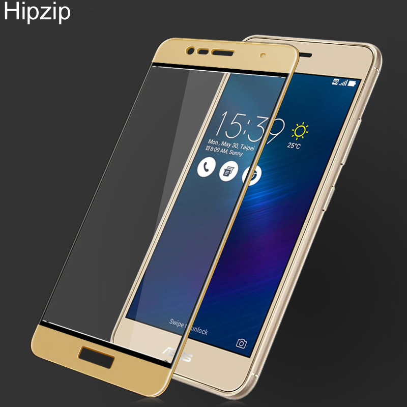Hipzip For <font><b>Asus</b></font> <font><b>Zenfone</b></font> <font><b>3</b></font> Max Tempered Glass 3D Full Cover <font><b>Screen</b></font> Protector for <font><b>Asus</b></font> <font><b>Zenfone</b></font> <font><b>Pegasus</b></font> <font><b>3</b></font> <font><b>X008</b></font> (5.2 inch) Film Sklo image
