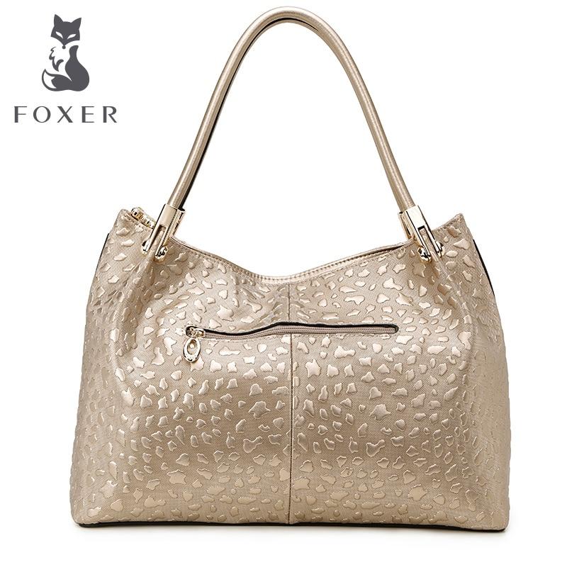 foxer moda sólida mulheres bolsa Color : Gold, black, etc