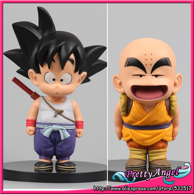 Japan Anime Original BANPRESTO DRAGONBALL COLLECTION Vol.1 Dragon Ball Toy Figures - Son Goku & Krillin powers the definitive hardcover collection vol 7