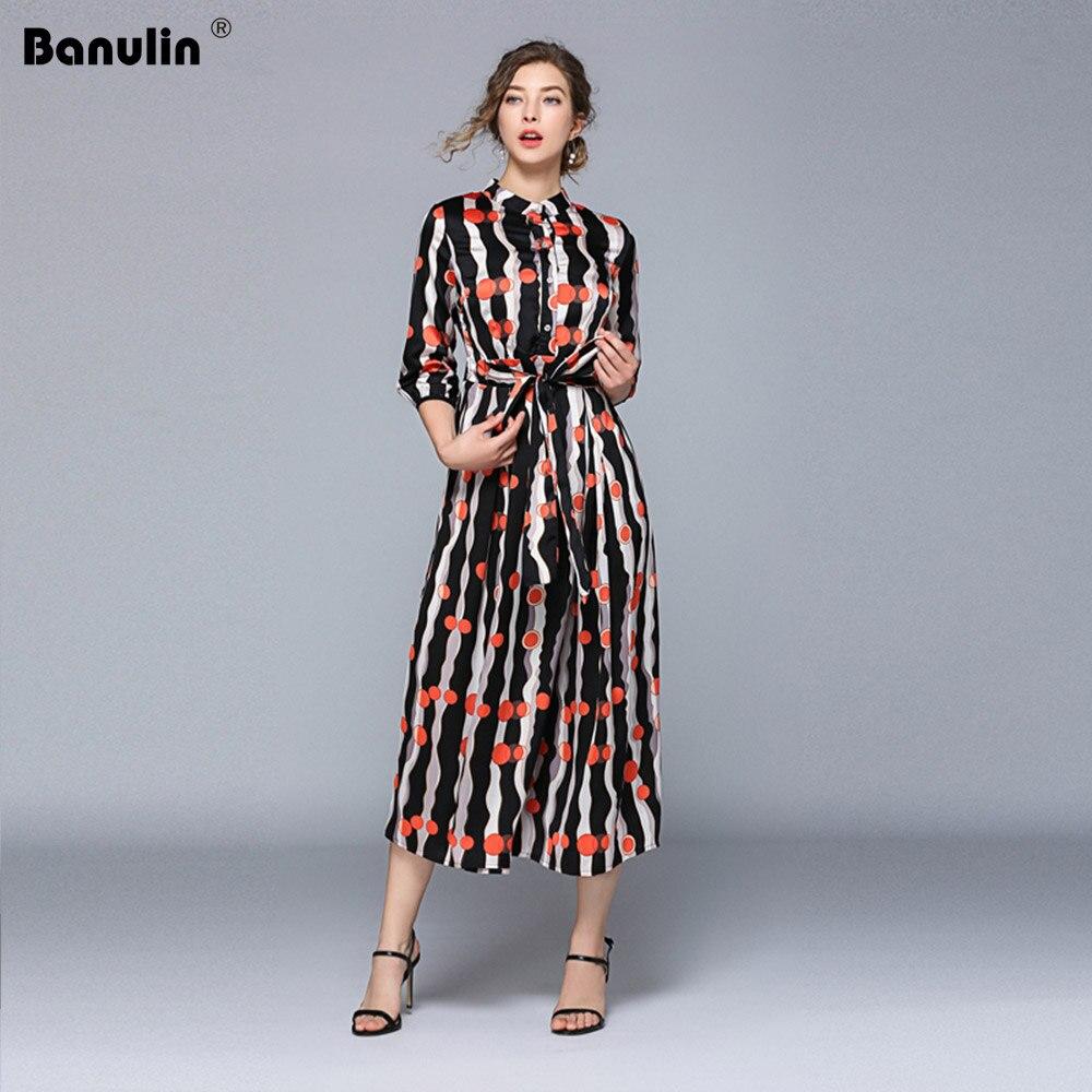 9f01c472c26 2019 женское летнее Черное Красное платье-рубашка в горошек с принтом и длинный  рукав в