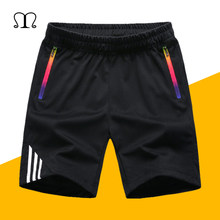 Mens Casual Shorts 2019 Summer Quickly Dry Plaid Short Beach Board Shorts Men Exercise Slim Fit Bermudas Masculina Boardshorts(China)