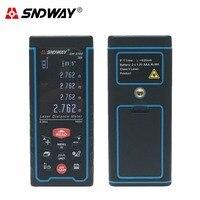 SNDWAY Digital Laser Rangefinder Color Display Rechargeabel 50M 70M 100M Laser Range Finder Distance Meter Fast