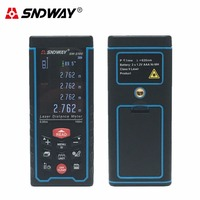 SNDWAY Digital Laser Rangefinder Color Display Rechargeabel 50M 70M 100M Laser Range Finder Distance Meter Fast