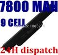 9 células 7800 mah bateria do laptop novo para asus a43 a53 k43 k53 x43 a43b a53b k43b k53b x43b series, a32-k53 a42-k53